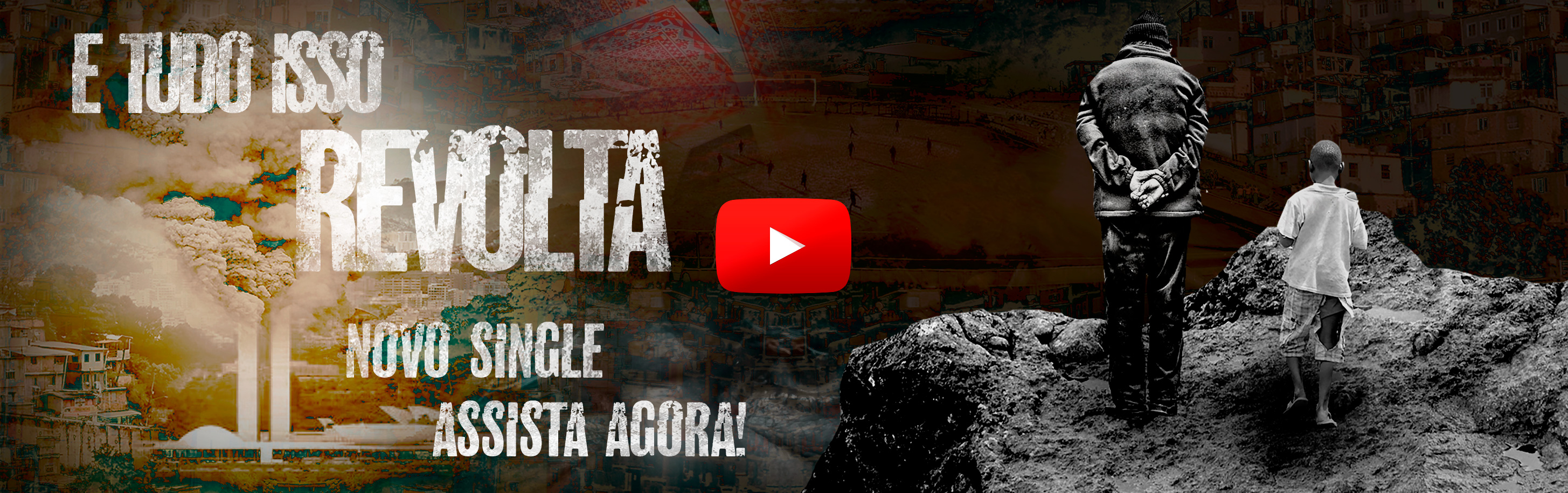 Assista o lyric video de Revolta